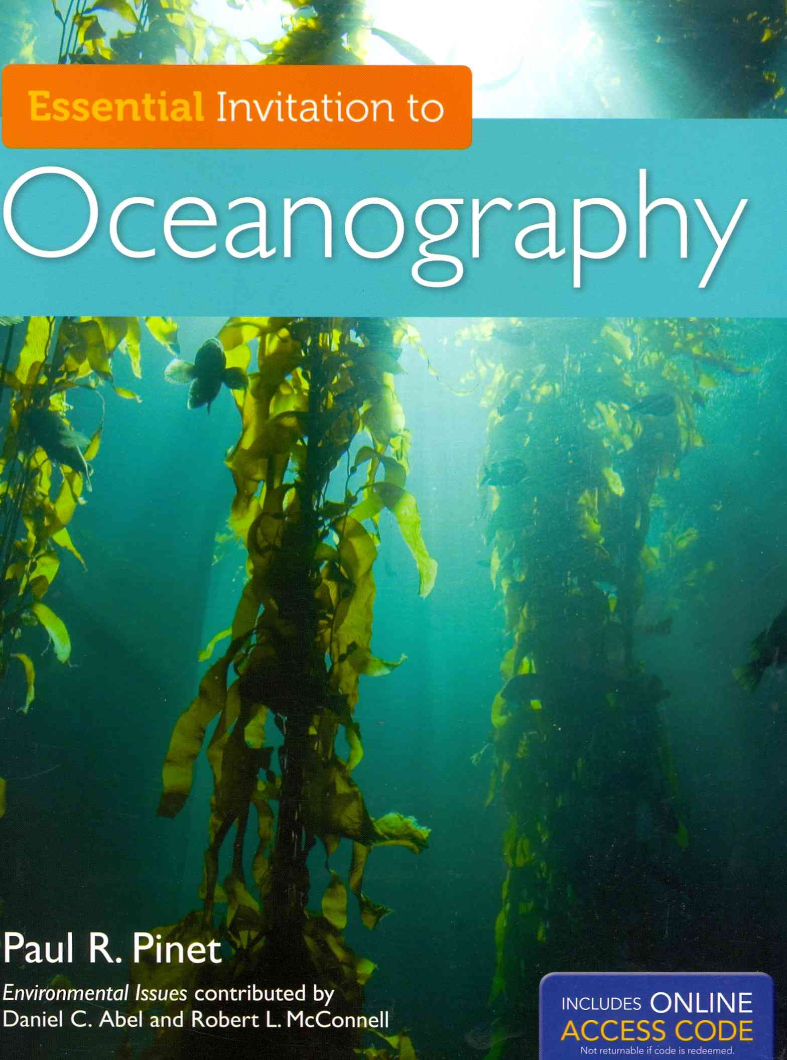 Essential Invitation to Oceanography By Pinet, Paul R.